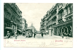 Bruxelles - Boulevard Anspach / Stengel & Co. 21011 (1904) - Avenues, Boulevards