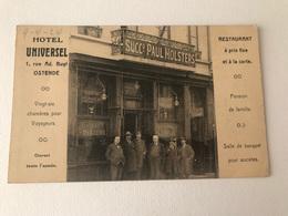 Oostende  Hotel Universel Rue Ad Buyl - Oostende
