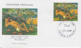 Enveloppe  FDC  1er  Jour   POLYNESIE   Oeuvre  De   Paul   GAUGUIN   1997 - FDC