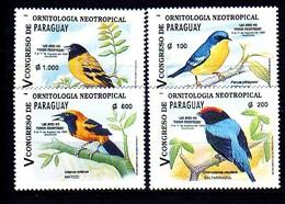 Paraguay 1995 Mi.No. 4693 - 4696 Birds 4v MNH**  6.00 € - Non Classificati