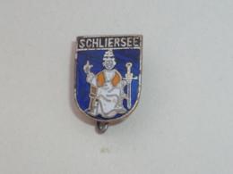 BROCHE BLASON DE SCHLIERSEE - Villes