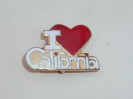 BROCHE I LOVE CALIFORNIA - Villes