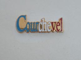 Pin's STATION DE COURCHEVEL - Villes