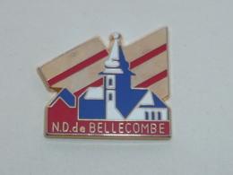 Pin's NOTRE DAME DE BELLECOMBE, Signe MARTINEAU - Villes