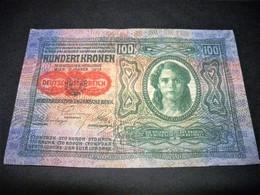 AUTRICHE 100 Couronnes-kronen, Pick KM N°55, AUSTRIA - Autriche