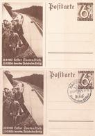 2 Entiers Illustre De Propagande Neuf/20.04.1937 - Deutschland