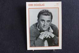Sp-Acteur,écrivain Producteur,réalisateur - Américain 1955 - Kirk Douglas, Né En 1916 à Amsterdam (État De New York) . - Acteurs