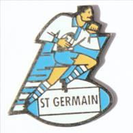 Pin's Saint Germain En Laye (78) - SAINT GERMAIN - Rugbyman En Pleine Course - I521 - Rugby