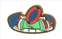 Pin's BEZIERS (34) - ASBH 1991 1992 - Association Sportive De Béziers Hérault - Stade Raoul-Barrière - R.G - I550 - Rugby