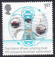 British Engineering (2019) - Falkirk Wheel 1st SG4213 - 1952-.... (Elizabeth II)