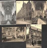Bruxelles - Lot 5 Cartes Eglise Des Dominicains - Bruxelles-ville