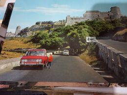 MONTE SAN ANGELO  CASTELLO E AUTO CAR FIAT 125  N1971 HE282 - Foggia