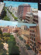 2 CARD  FOGGIA CORSO ROMA  E PIAZZA GIORDANO VB1968/69 HE282 - Foggia