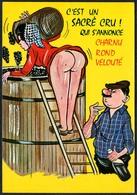 C7213 - TOP Scherzkarte Humor - Erotik - Wein Weinlese Lese - Humor