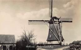 Windmolen Molen Windmill Moulin à Vent  Korenmolen Te Identificeren Echte Fotokaart    L 619 - Windmolens