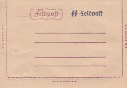 Entier Carte/lettre Neuf Avec Surcharge SS Feldpost - Deutschland