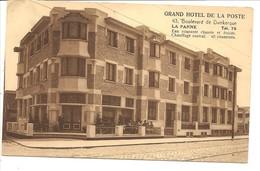 LA PANNE   GRAND HOTEL DE LA POSTE - De Panne