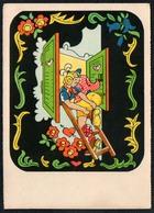 C7218 - TOP Scherzkarte Humor - Erotik Küsntlerkarte - Humor