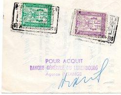 LETRE  DE CHANGE BANQUE GENERALE DU LUXEMBOURG TIMBRES EFFETS DE COMMERCE - Luxemburg