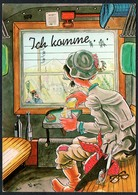 C7221 - TOP Scherzkarte Humor - Eisenbahn - Verlag Cramer - Humor