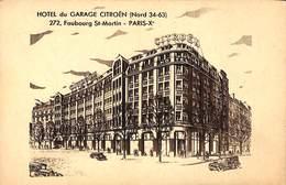 75 - Hôtel Du Garage Citroën (note De Frais) - Distretto: 10