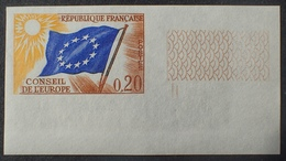 R1591/402 - 1963 - CONSEIL DE L'EUROPE N°27 NEUF** ND CdF - Cote : 55,00 € - Non Dentellati