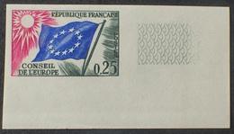 R1591/403 - 1963 - CONSEIL DE L'EUROPE  N°28 NEUF** ND CdF - Cote : 55,00 € - Non Dentellati