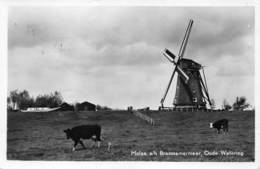 Windmolen Molen Windmill Moulin à Vent  Molen Aan Het Braassemermeer Oude Wetering      L 627 - Windmolens