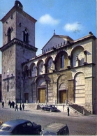 Benevento - Facciata Del Duomo - Formato Grande Viaggiata – E 13 - Benevento
