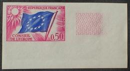 R1591/404 - 1963 - CONSEIL DE L'EUROPE  N°32 NEUF** ND CdF - Cote : 55,00 € - Non Dentellati