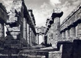 Paestum - Interno - Nettuno - Formato Grande Viaggiata – E 13 - Salerno