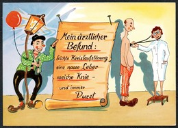 C7228 - TOP Tom Scherzkarte Humor - Kur Bad Kurbad - Metz - Humor