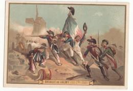 59 NORD IMAGE CHROMO CHICOREE LA MENAGERE DUROYON RAMETTE CAMBRAI  N°21 BATAILLE DE VALMY FORMAT 12.2/8.5 - Oude Documenten