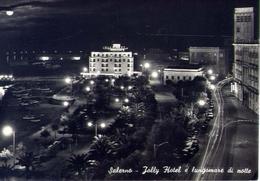Salerno - Jolly Hotel E Lungomare Di Notte - Formato Grande Viaggiata – E 13 - Salerno