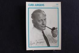 Sp-Acteur,réalisateur Allemand ,1960 - Curd Jürgens, Né En 1915 à Solln (Bavière) Et Mort En 1982 à Vienne (Autriche) - Acteurs