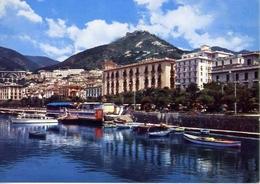 Salerno - Lungomare Trieste - Formato Grande Viaggiata – E 13 - Salerno