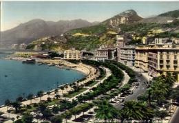 Salerno - Via Lungomare E Giardini - Formato Grande Viaggiata – E 13 - Salerno
