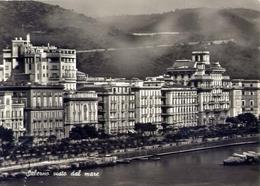 Salerno - Visto Dal Mare - Formato Grande Viaggiata – E 13 - Salerno