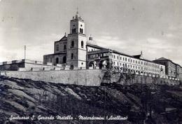 Santuario S.gerardo Maiella - Materdomini - Avellino - Formato Grande Viaggiata – E 13 - Avellino