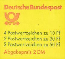 BRD MH 22 I Af OZ, Postfrisch ** - Markenheftchen