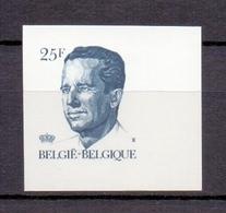 2356 KONING BOUDEWIJN VELGHE ONGETAND POSTFRIS** 1990 - Belgique