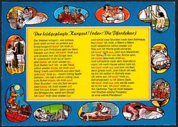 C7235 - Scherzkarte Humor - Kur Kurbad - Stadthagen - Verlag Schöning - Humor