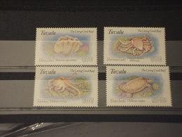 TUVALU - 1993 FAUNA MARINA  4 VALORI - NUOVI(++) - Tuvalu