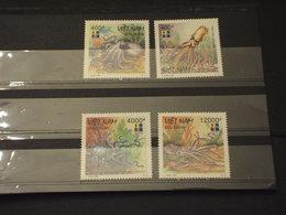 VIETNAM - 1999 PIOVRE 4 VALORI - NUOVI(++) - Vietnam