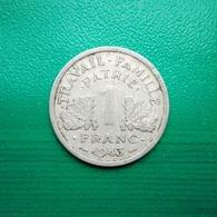 1 Franc Münze Aus Frankreich Von 1943 (sehr Schön) - H. 1 Franc