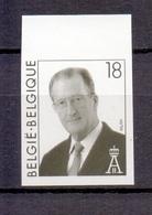 2698 KONING ALBERT II ONGETAND POSTFRIS**  1997 - Belgique