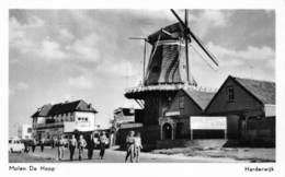 Windmolen Molen Windmill Moulin à Vent  Harderwijk  Molen De Hoop   Echte Fotokaart   L 646 - Windmolens