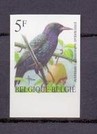 2638 SPREEUW BUZIN VOGEL ONGETAND POSTFRIS** 1996 - Belgique