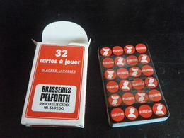 Jeu De 32 Cartes à Jouer - BIERES PELFORTH - LILLE - BRASSERIES PELICAN - 32 Cartes