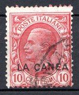 Ile De CRETE - (Bureau Italien De La CANEE) - 1907-12 - N° 15 - 10 C. Rose - Kreta